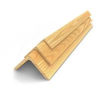 Уголок из лиственницы 45x45мм 2-4м